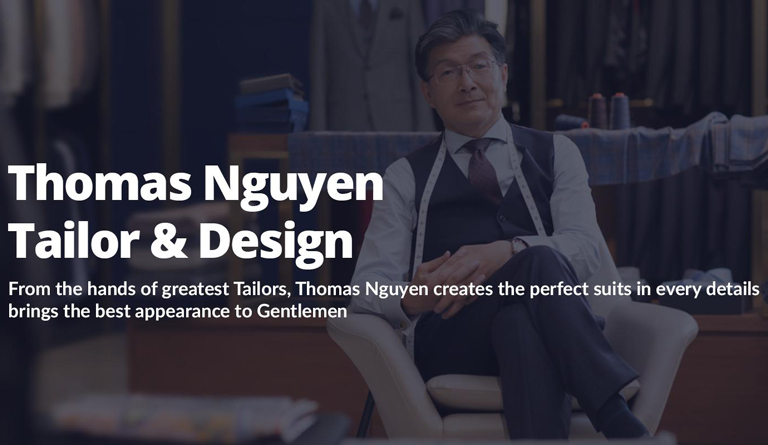 Tiệm may vest Thomas Nguyen Tailor & Design