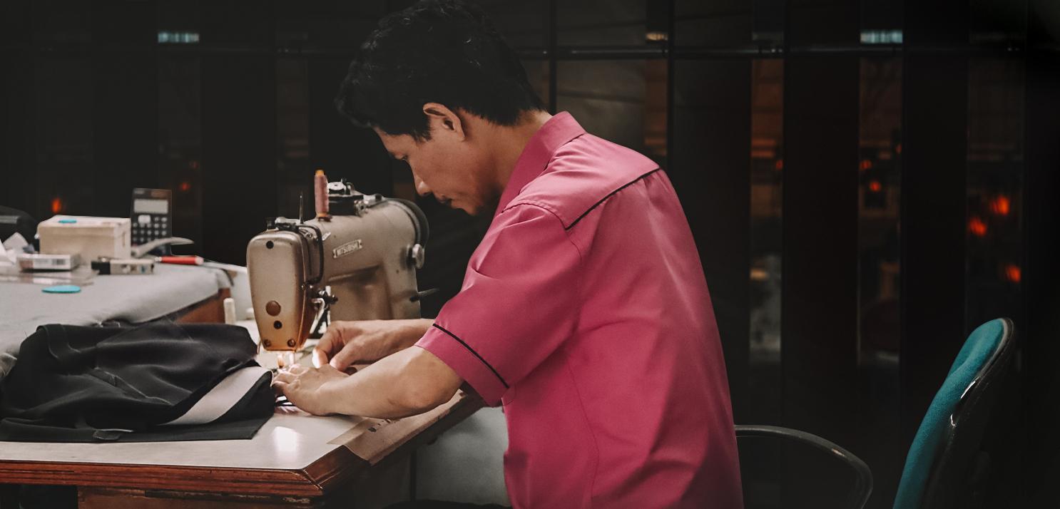 Thợ may sơ mi - Chú Minh