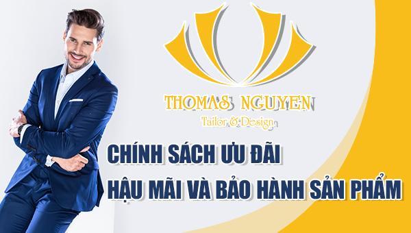 Chính sách ưu đãi, hậu mãi và bảo hành vest tại Thomas Nguyen Tailor