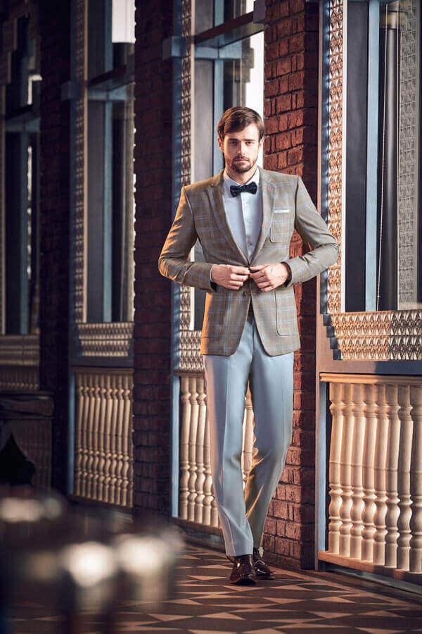 Mẫu vest may từ vải wool luxe D569/1