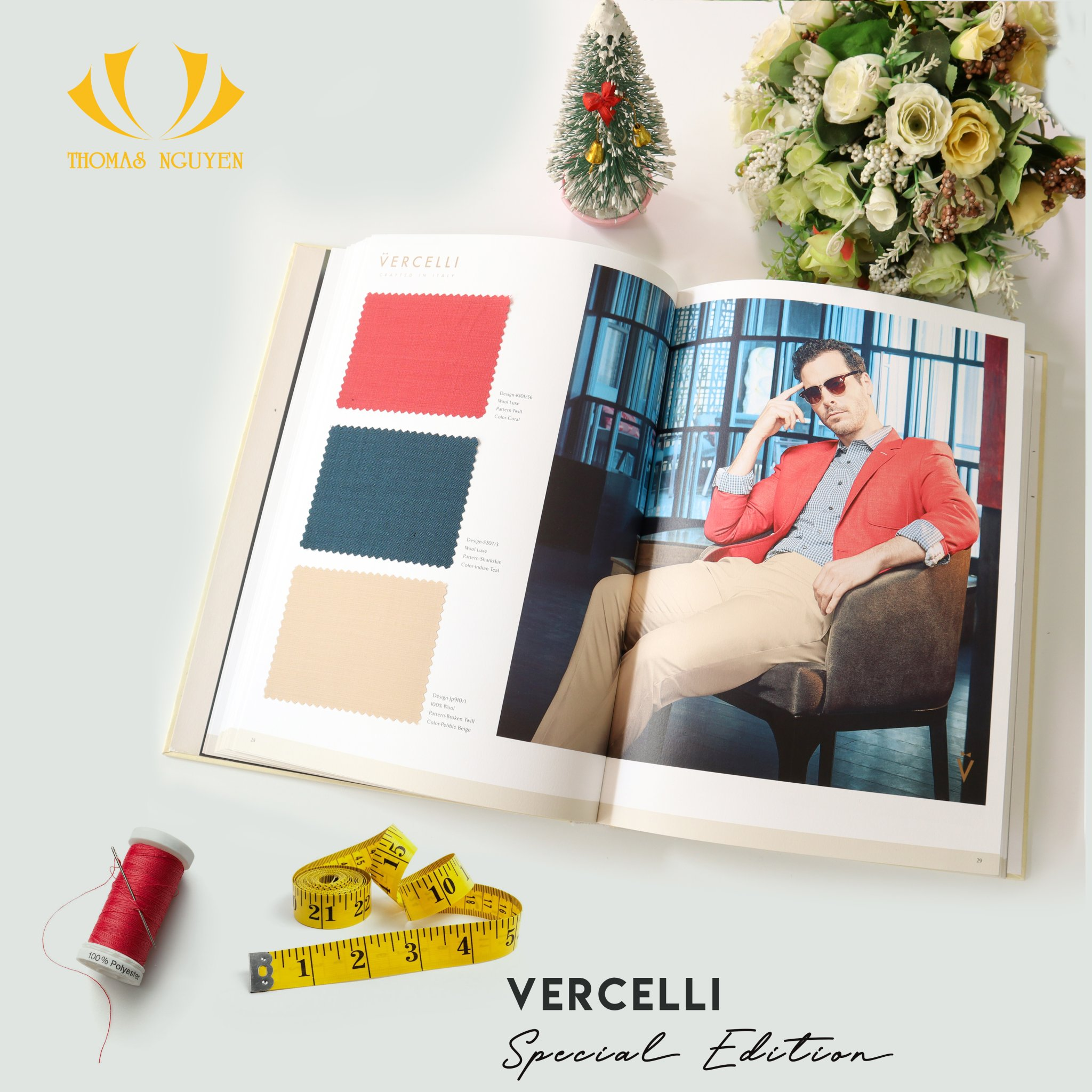 BST Vải Wool độc đáo Vercelli 2020 Collection Special Edition