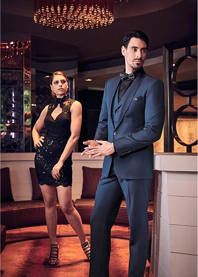 vest xanh đẹp tại Thomas Nguyen Tailor & design
