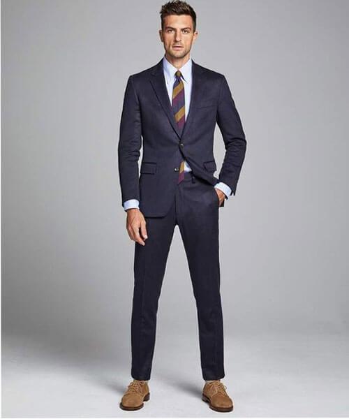Mẫu vest may bằng vải cashmere