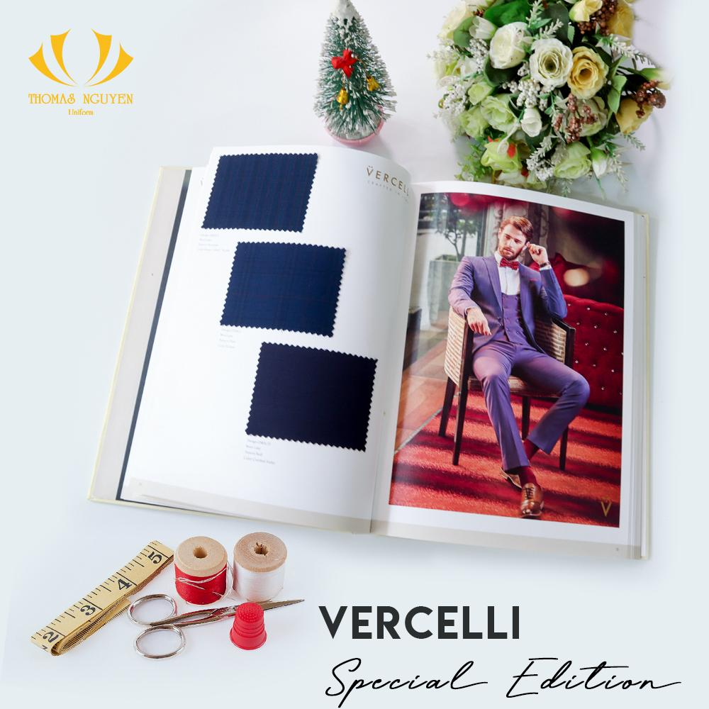 Vải Wool Linen - The Vercelli Special Edition 2020