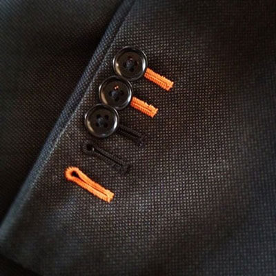 khuy tay áo vest