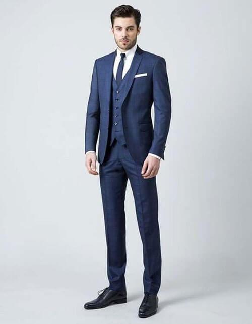 Vest xanh navy