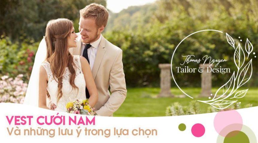 Vest cưới nam và những lưu ý cho bạn trong chọn lựa từ Thomas Nguyen