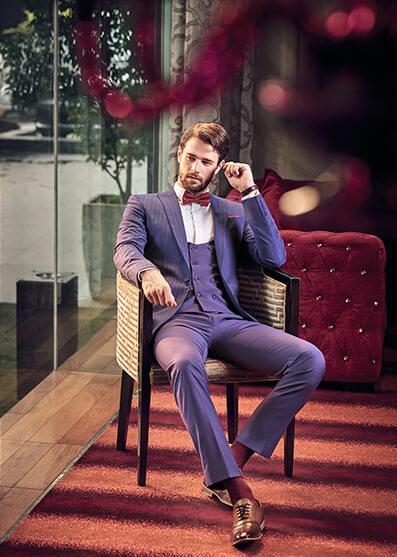Bộ sưu tập vest hiện đại cho quý ông