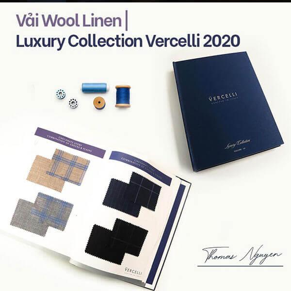 Dòng vải trong BST Luxury Collection của thương hiệu Vercelli