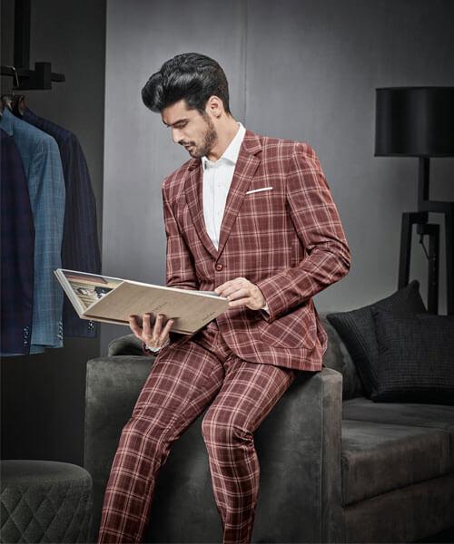 Mẫu vest dòng vải Wool Luxe D666/2