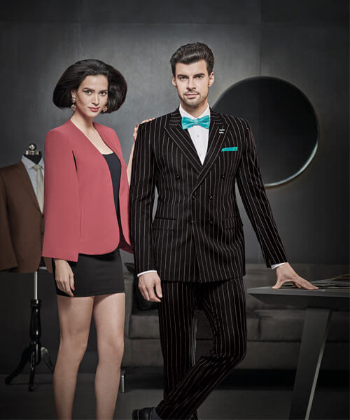 Mẫu vest dòng vải Wool Luxe D668/1