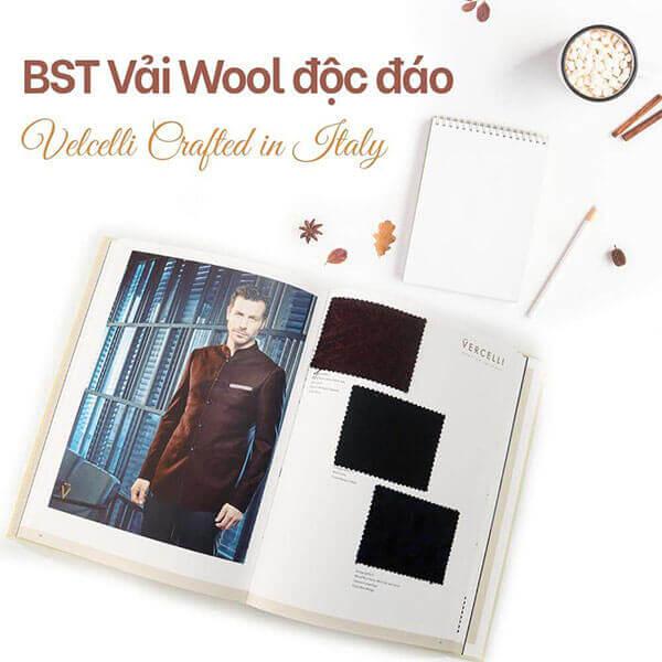 Dòng vải trong BST Special Edition của thuognư hiệu Vercelli