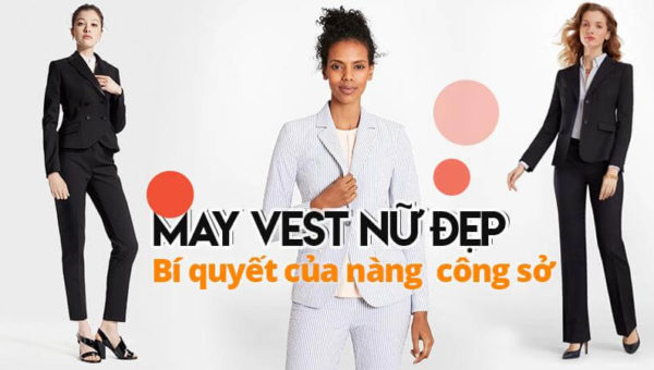 May vest nữ   Vest Nữ Công Sở   Vest Doanh Nhân