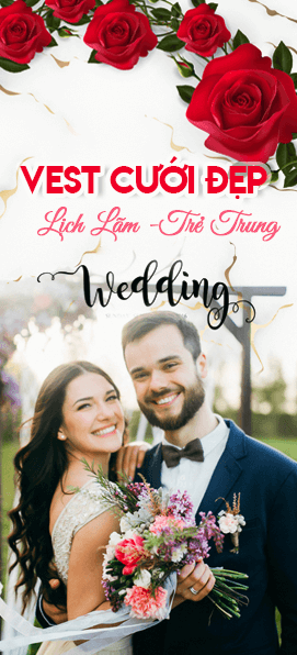 May vest cưới tại Thomas Nguyen Tailor