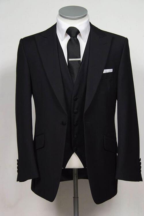 bộ vest đen