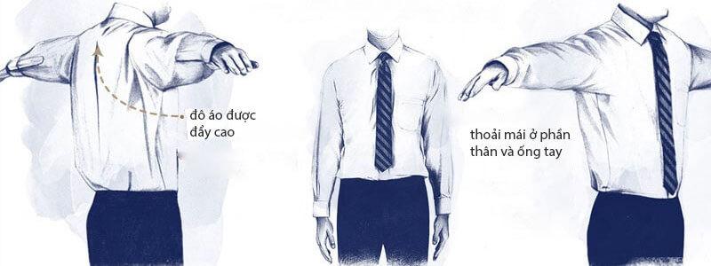 Form áo sơ mi chuẩn