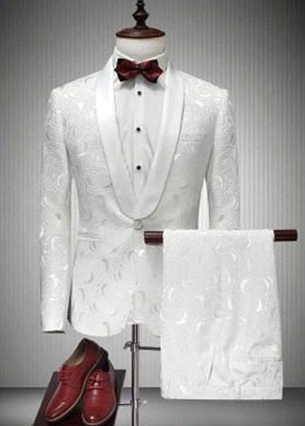 Vest trắng nam sang trọng