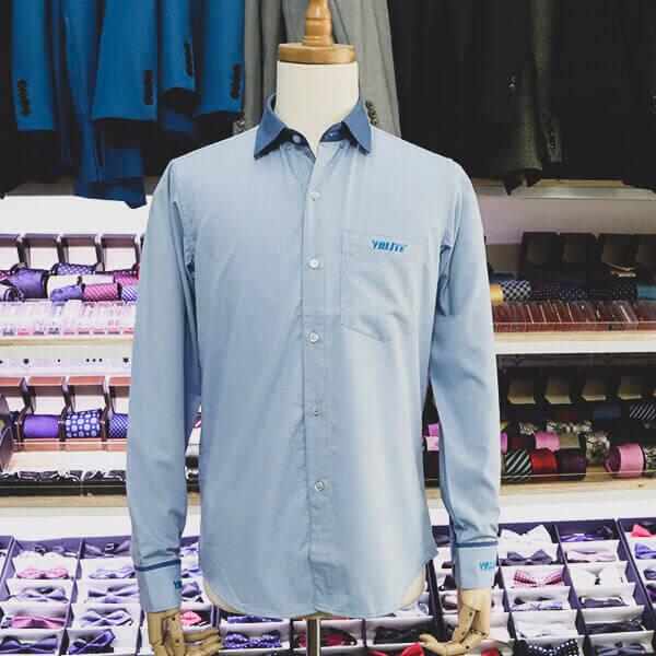 Mẫu áo sơ mi may tại Thomas Nguyen