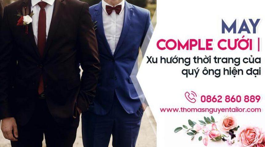 May comple cưới | Xu hướng thời trang của quý ông hiện đại ngày nay