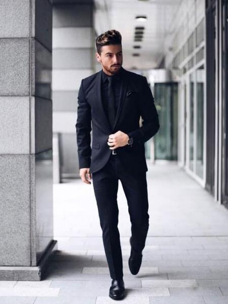 vải may áo vest nam