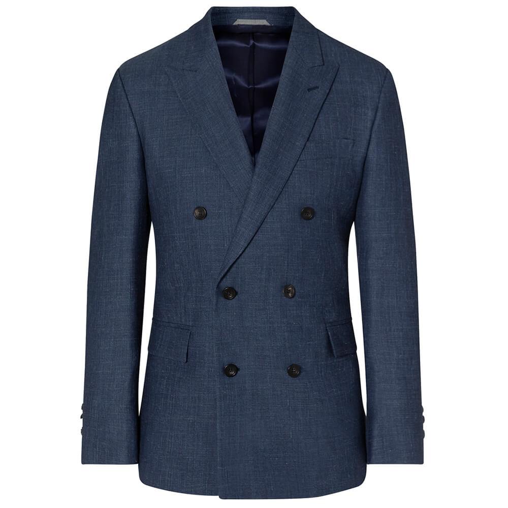 May đo suit nam màu xanh biển Thomas Nguyen
