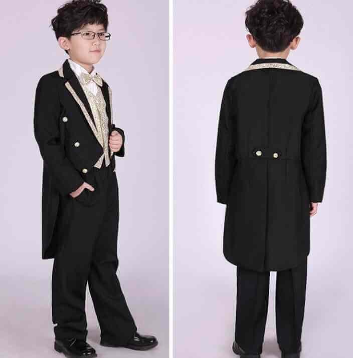 Cách lấy số đo khi muốn mua vest may sẵn thay vì may suit cho bé