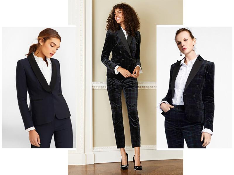 Tuxedo nữ công sở cao cấp