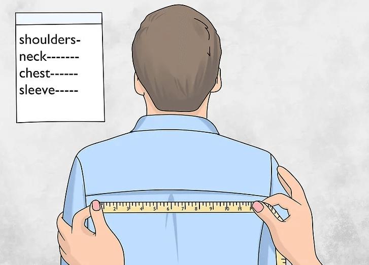 Lấy số đo chỉ số cơ thể tại địa chỉ may áo vét nam Thomas Nguyen