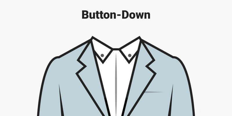 Cổ áo cài cúc Button-down