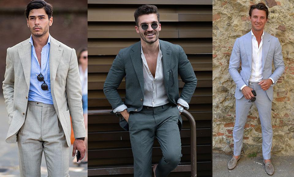 Nên hay không nên mặc vest mà không thắt cà vạt