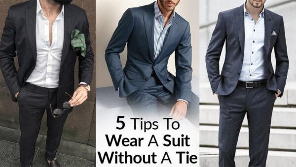Cách mặc vest không cà vạt giúp bạn có vẻ ngoài giản dị và sắc sảo nhất
