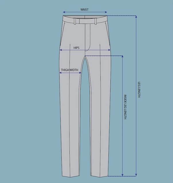 Cách tự lấy số đo phần thân dưới