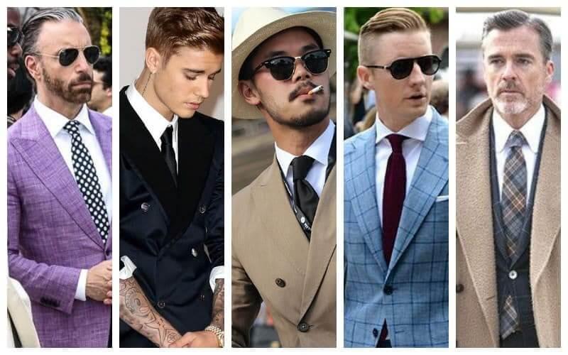 Kết hợp áo sơ mi trắng cùng màu suit đặc biệt