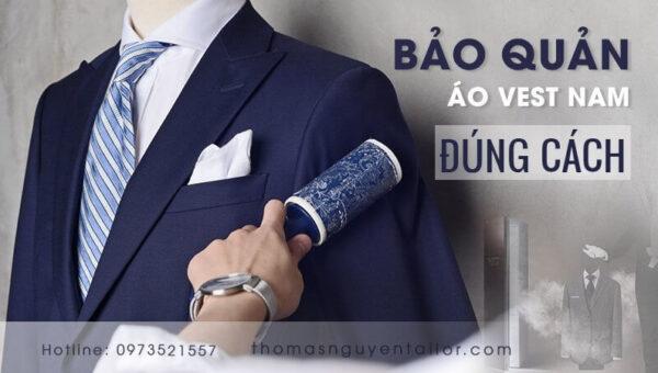 Cách bảo quản áo vest nam đúng cách và dễ thực hiện