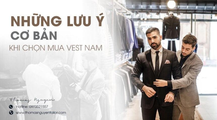 Những lưu ý cơ bản khi chọn mua vest nam giúp chọn được chiếc hoàn hảo nhất