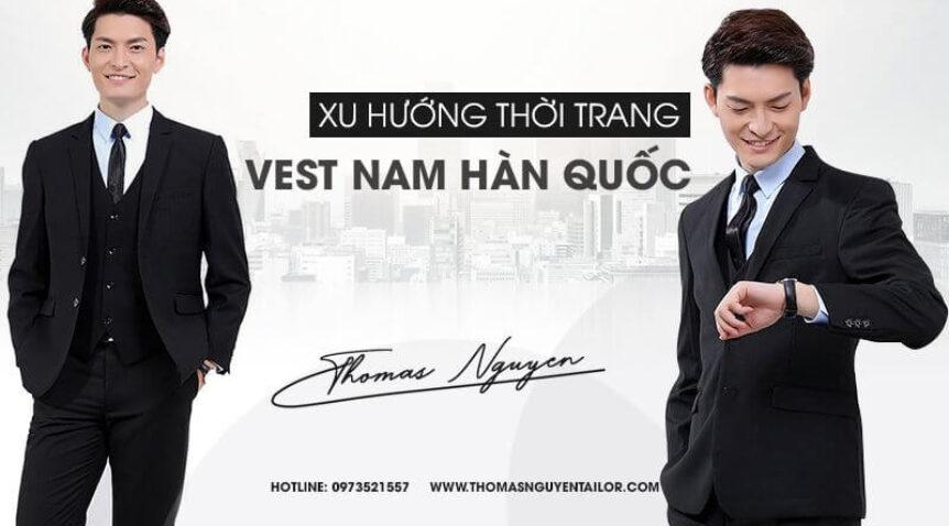 Xu hướng thời trang vest nam Hàn Quốc của năm