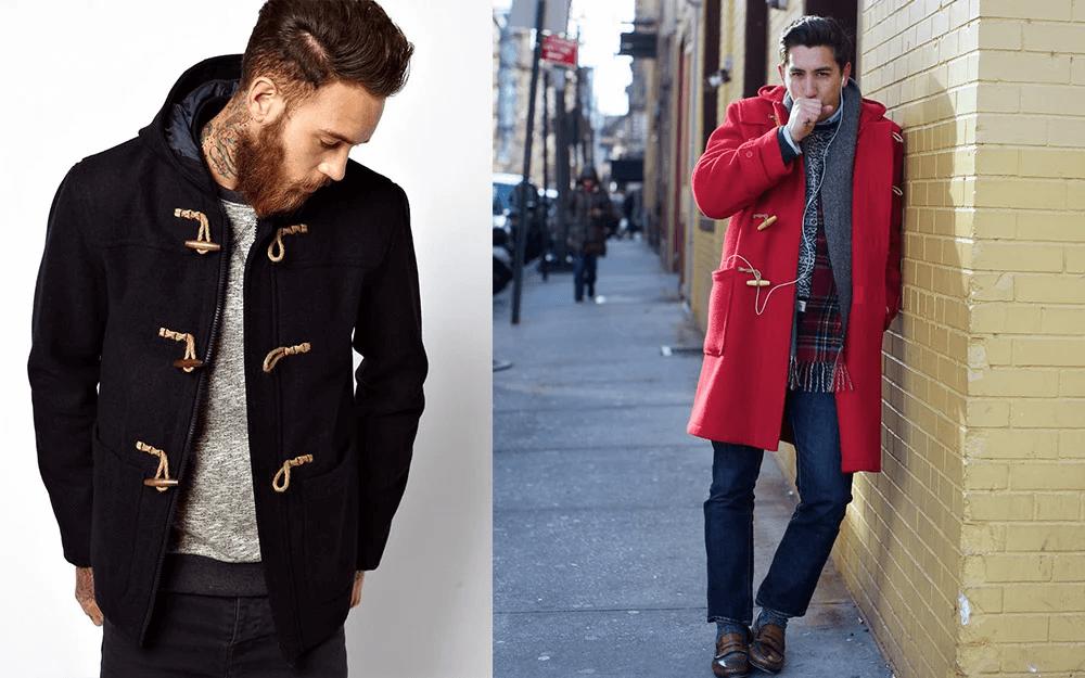Áo khoác nam công sở: Duffle Coat