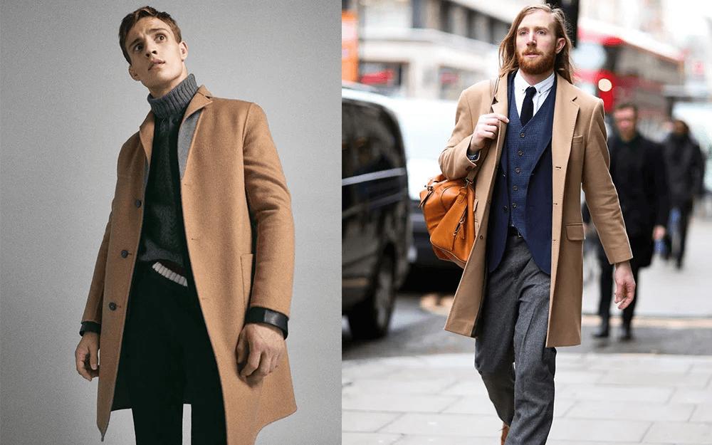 Áo khoác nam công sở: Overcoat