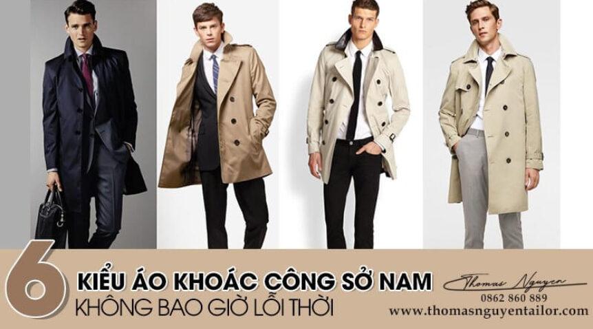 """6 kiểu áo khoác công sở nam """"đứng vững"""" trước thử thách của thời gian"""