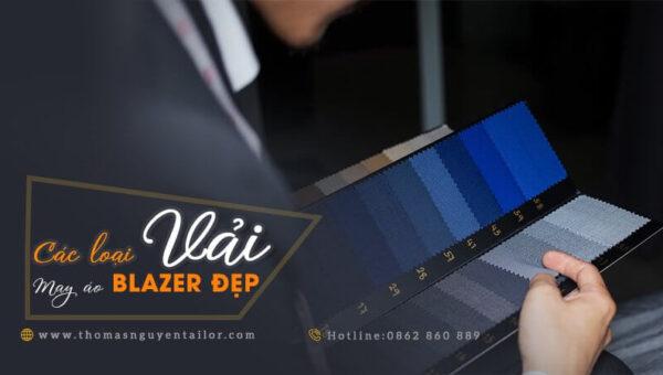 Các loại vải may áo blazer đẹp nhất với giá cả phải chăng
