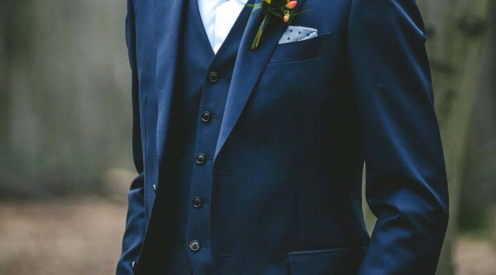 suit 3 mảnh chú rể