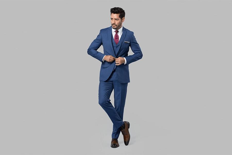 Vest màu xanh Classic (xanh cổ điển)