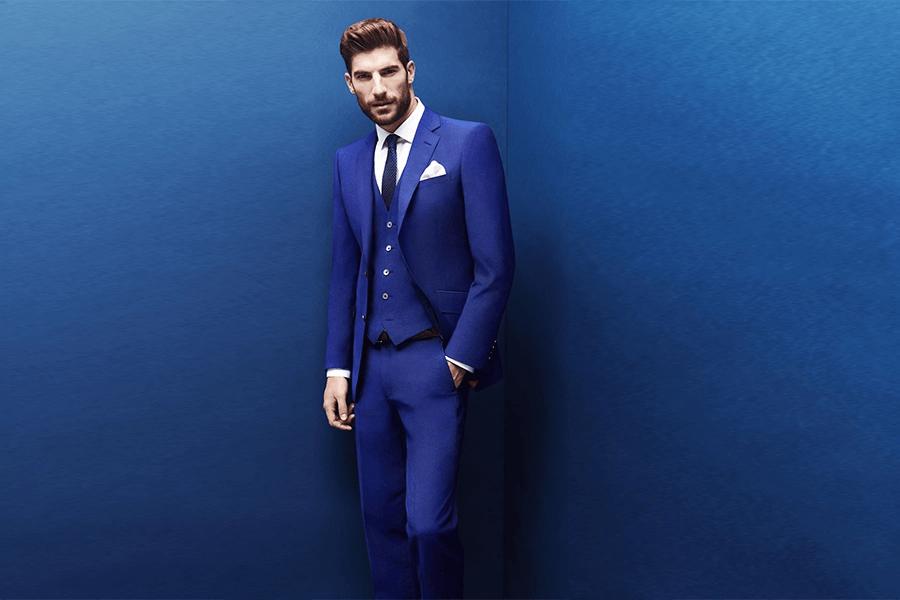 Vest màu xanh đậm (Royal Blue)
