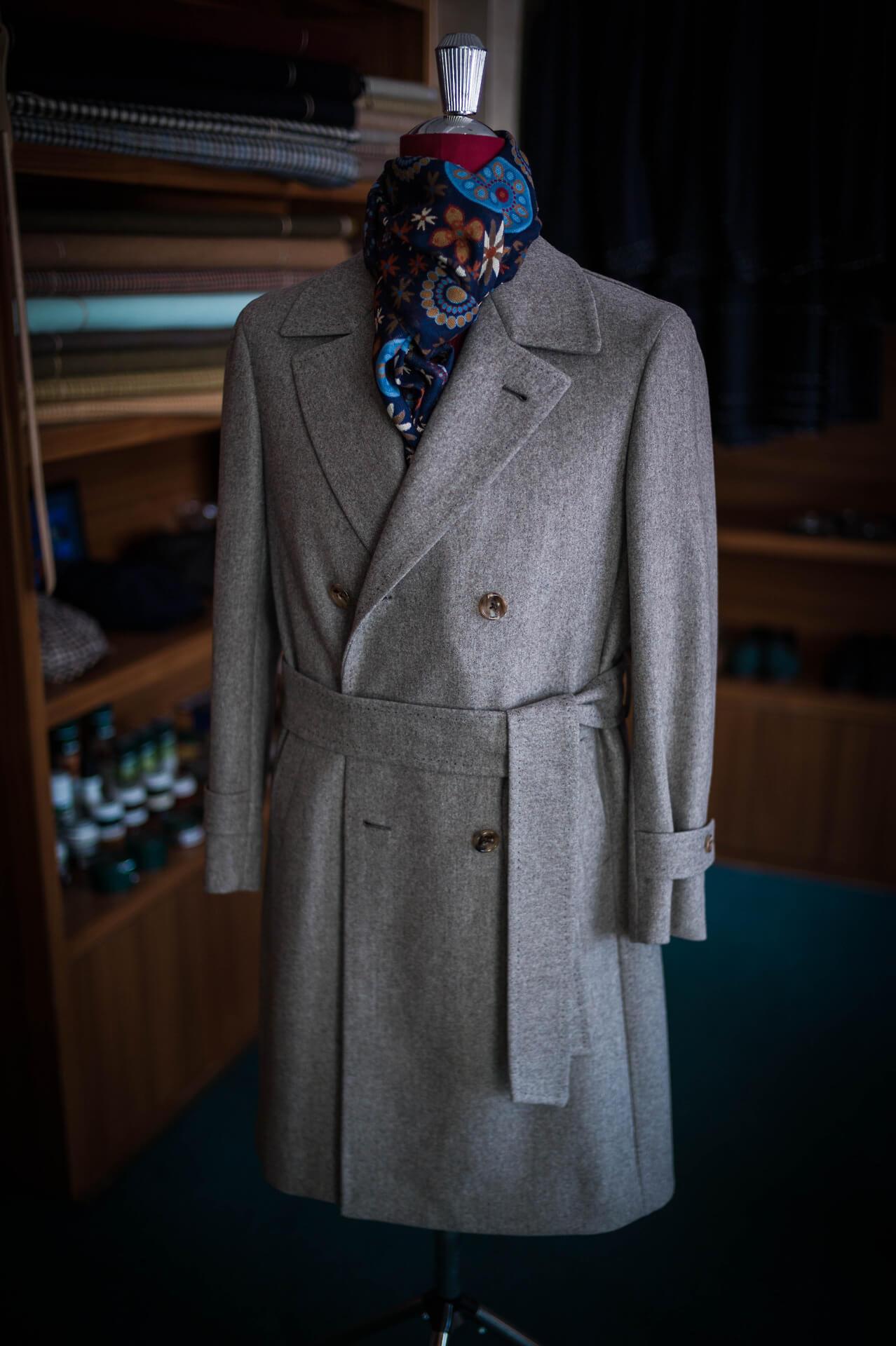 Dây thắt lưng của áo khoác mangto