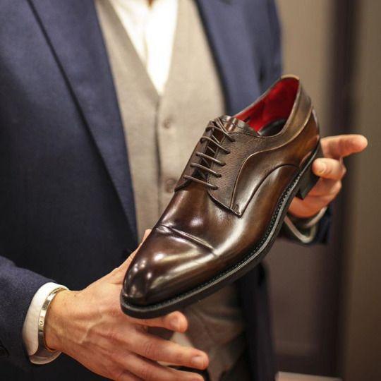 Xu hướng giày da sang trọng
