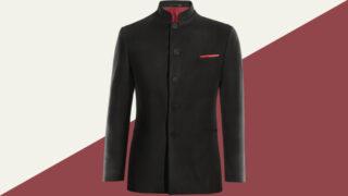 May đo áo vest cổ tàu/ áo vest cổ Mandarin đầy thu hút và sang trọng