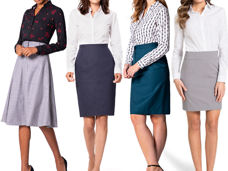Chân váy áo công sở nữ cho các quý cô
