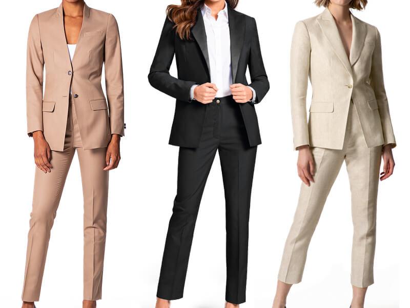 Bộ âu phục quần áo công sở nữ cho các quý cô
