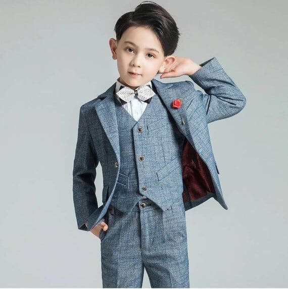 Vest trẻ em đáng yêu dành cho các bé trai