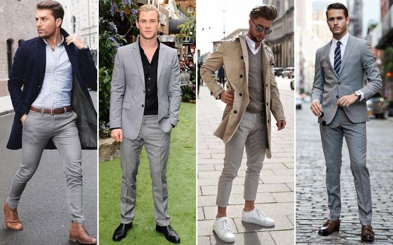 Trang phục theo mùa quần tây cho quý ông
